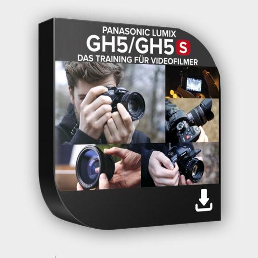 Produktbild zum Lernkurs zur Panasonic-GH5 und GH5s als Download