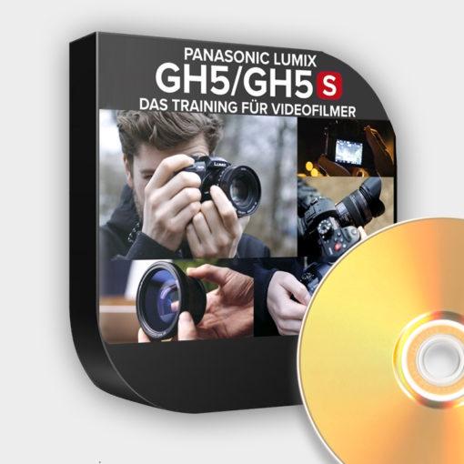 Produktbild zum Lernkurs zur Panasonic-GH5 und GH5s als DVD