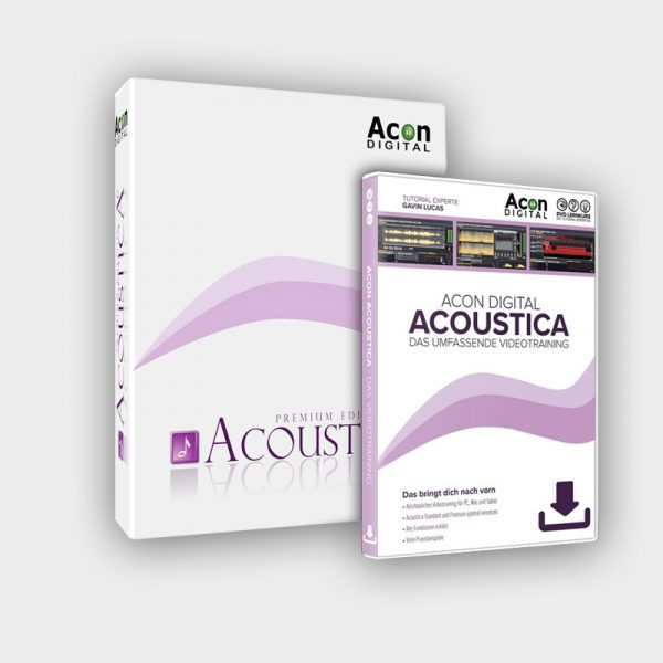Acoustica Premium Edition inkl. Videotraining in Deutsch