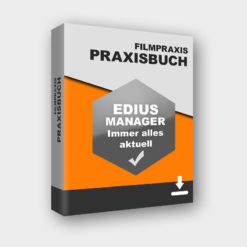 Packshot Praxisbuch EDIUS MANAGER - Immer alles aktuell