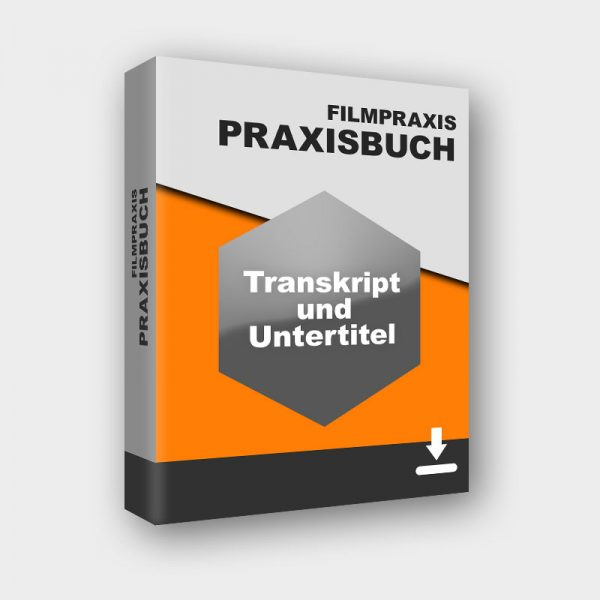 produktbild praxisbuch transkript und untertitel