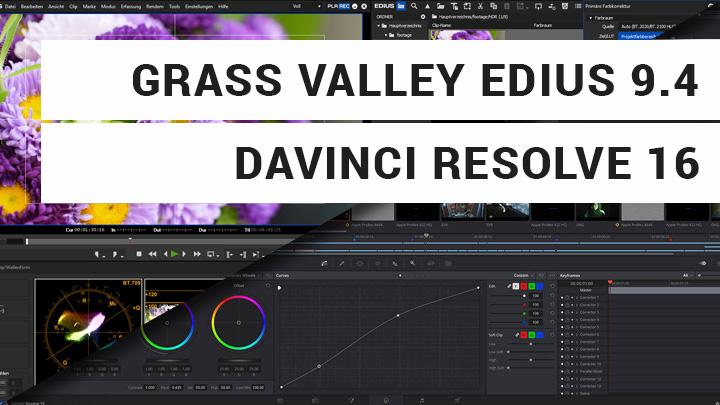 Beitrag zu NAB 2019 - Grass Valley EDIUS 9.4 und DaVinci Resolve 16 Neuigkeite