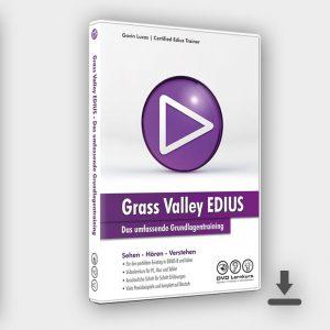 Produktbild - EDIUS- Das umfassende Grundlagentraining (Grundkurs)