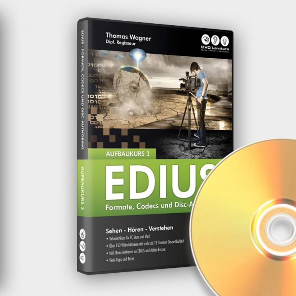 Produktbild Edius Aufbaukurs 3 DVD