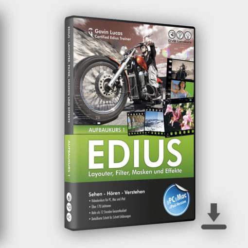 Produktbild Edius Aufbaukurs 1 Download