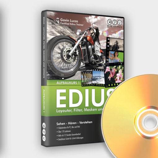 Produktbild Edius Aufbaukurs 1 DVD
