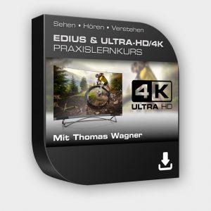 Produktbild EDIUS & ULTRA-HD/4K Lernkurs