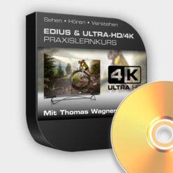 EDIUS & ULTRA-HD/4K Lernkurs