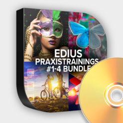 EDIUS Praxistraining #1-4 Set zum Sparpreis (DVD)