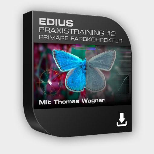 Produktbild Edius Praxistraining Nr 2 - Primäre Farbkorrektur - Download