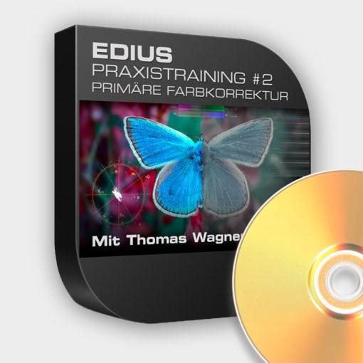 Edius Praxistraining Nr 2 - Primäre Farbkorrektur (DVD)