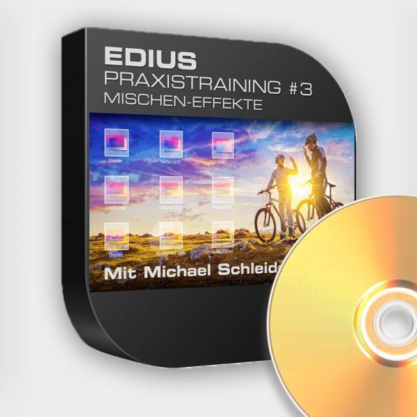 Produktbild Edius Praxistraining Nr 03 - Mischen-Effekte - DVD