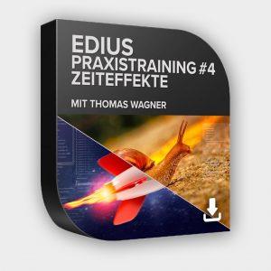 Lernkurs EDIUS Praxistraining #4 - Zeiteffekte Download