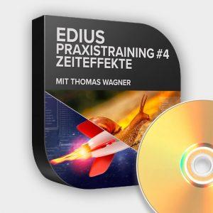 Edius Praxistraining Nr 4 - Zeiteffekte - DVD