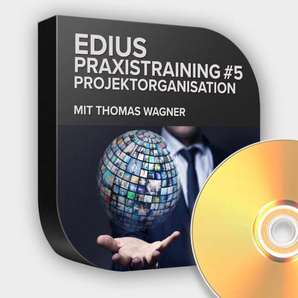 EDIUS Praxistutorial 5 Projektorganisation DVD