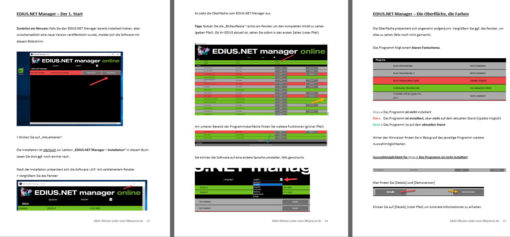 EDIUS Manager Screenshot