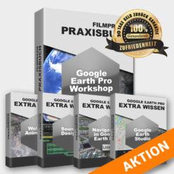 Projektbild Anleitung zu Google Earth Pro Deutsch