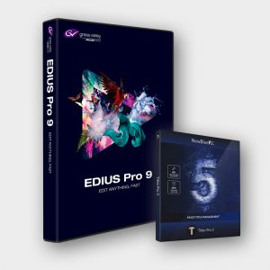 Produktabbildung Grass Valley EDIUS 9 Pro