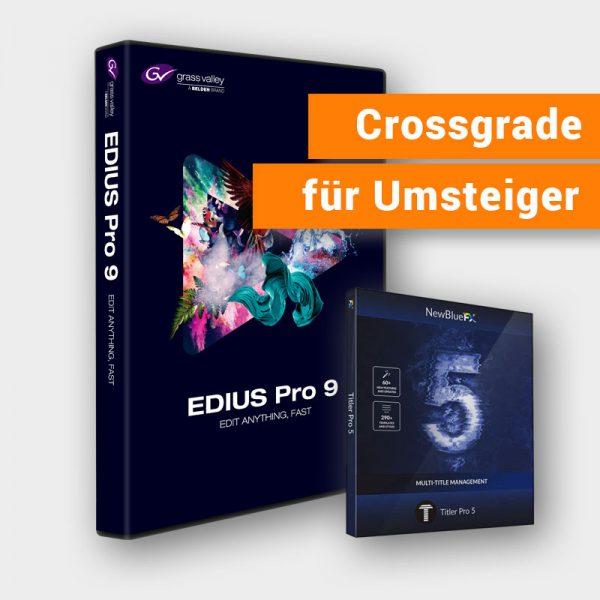 Grass Valley EDIUS Pro 9 Jump 2 Upgrade (Crossgrade)