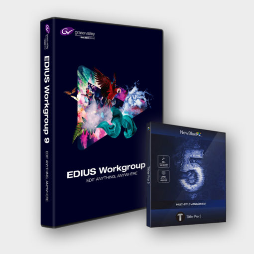 Produktabbildung Grass Valley EDIUS 9 WORKGROUP