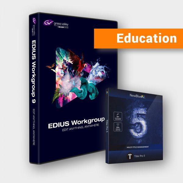 Produktbild Grass Valley EDIUS 9 Workgroup Education