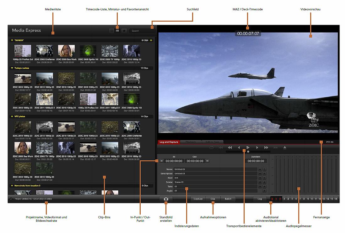 Videoschnittkarte Intensity 4K Pro von Blackmagic Design inkl. Anleitung