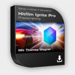 Hitfilm Ignite Pro Lernkurs auf deutsch - DVD