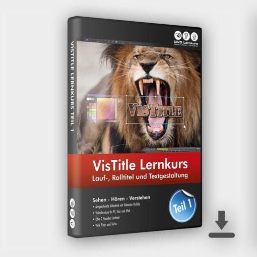 Produktbild VisTitle Lernkurs Teil 1 Download