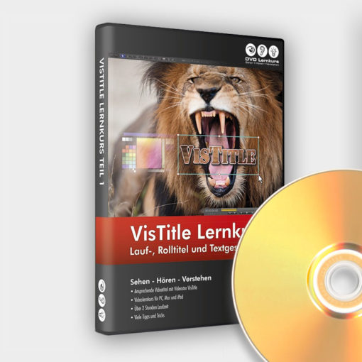 Produktbild VisTitle Lernkurs Teil 1 auf DVD