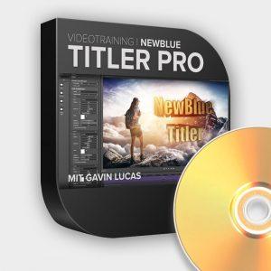 NewBlueFX Titler Pro Videotraining DVD