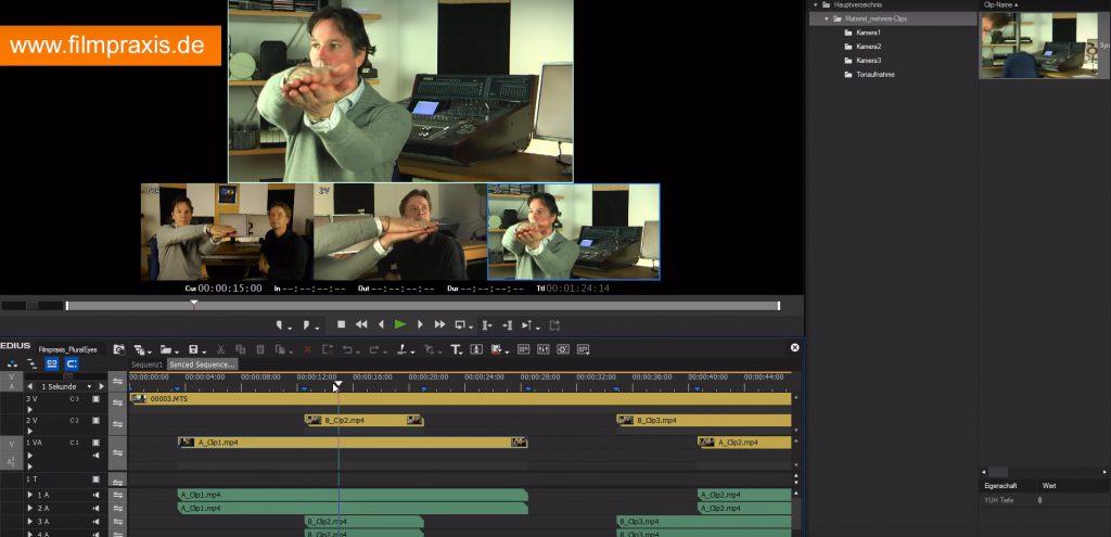 Mit PluralEyes synchronisieren Sie Audio- und Videospuren in Sekunden – vollautomatisch. Für jede Videoschnittsoftware geeignet.