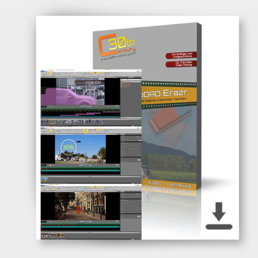 Video-Lernkurs proDAD Erazr Produktfoto