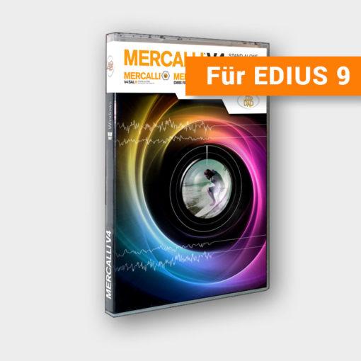 Produktbild Mercalli V4 SAL inkl. Plug-Ins für EDIUS 9 (CMOS Fixr und V4 Stabilizr)