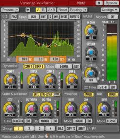 Voxengo Voxformer - Audiooptimierung